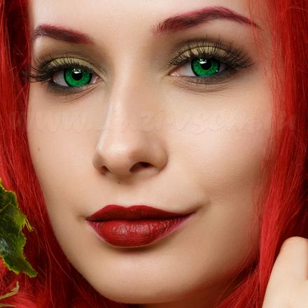 Цветные линзы EOS V209LB Green Фото 2