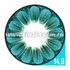 Цветные линзы EOS Daisy Blue Фото 4