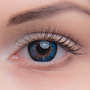 Цветные линзы EOS V Check Blue